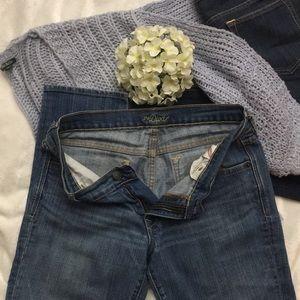Light & Dark Short  Blue Jeans